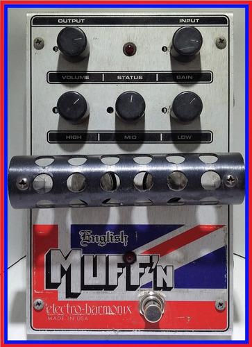 electro-harmonix english muff'n tube overdrive pedal