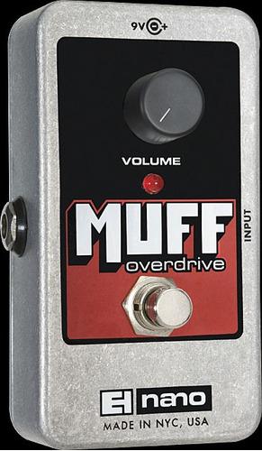 electro harmonix nano muff overdrive pedal de distorsion