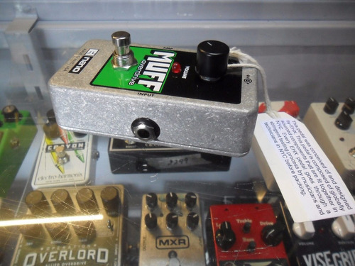 electro-harmonix pedal para guitarra electrica nano muff