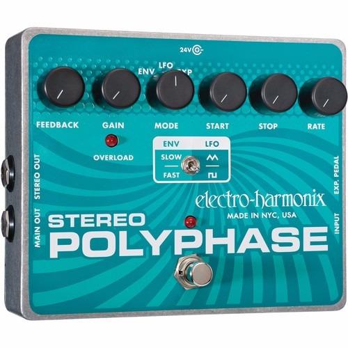 electro-harmonix polyphase pedal