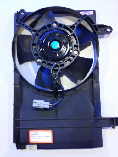 electro ventilador chevrolet aveo ls/ a/a 2005 up
