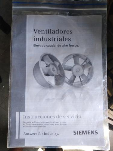 electro ventilador industrial (extractor)... siemens