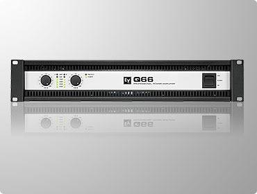 electro voice q66 amplificador de potencia stereo