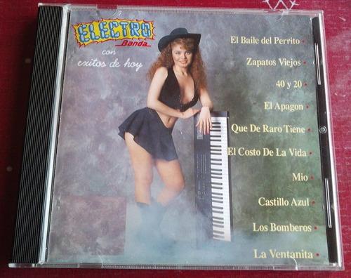 electrobanda cd 1a ed 1993 sello rodven