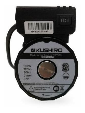 electrobomba presurizadora kushiro 100w 2 baños