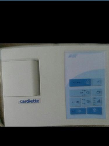 electrocardiografo cardiette ar 600 sin cable de precordiale