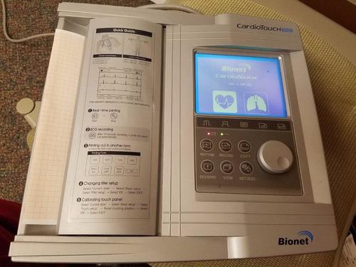 electrocrdiografo bionet 3000 interpretativo poco uso