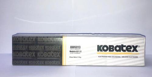 electrodo 6013 3/32  por caja 20 kg marca kobatex oferta