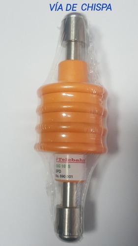 electrodo activo de grafito para puesta tierra y pararrayos