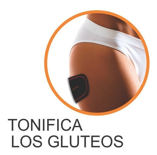electrodo portatil abdominales parche musculación