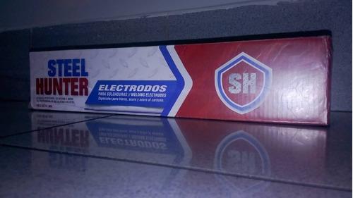 electrodos 6013 1/8 steel hunter