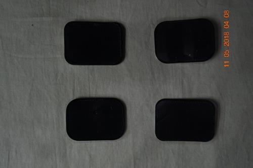 electrodos con gel cuadrados entrada tipo chupon 4 un x 20