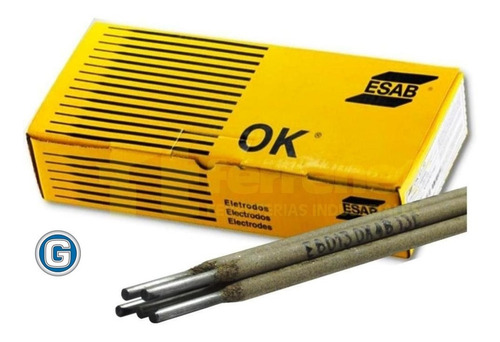 electrodos soldar esab ok de 2,00 x 5 kg conarco gramabi 13a