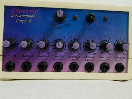electroestimulador 8 canales dobles y lapiz facial para mama