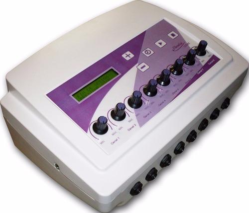 electroestimulador maquina 16 electrodos ondas rusas tens