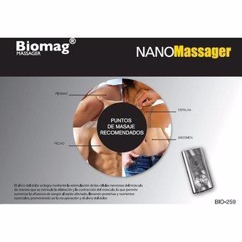 electroestimulador muscular corporal nano massager bioaura