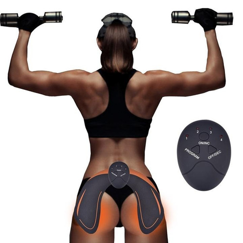 electroestimulador muscular glúteos tonifica electrodos ems