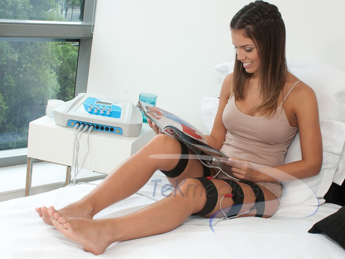 electroestimulador muscular ondas cuadras rusas 16 elec.