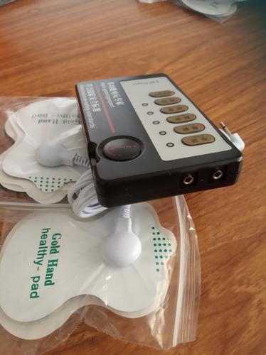 electroestimulador o gimnasia pasiva 2 salidas tens