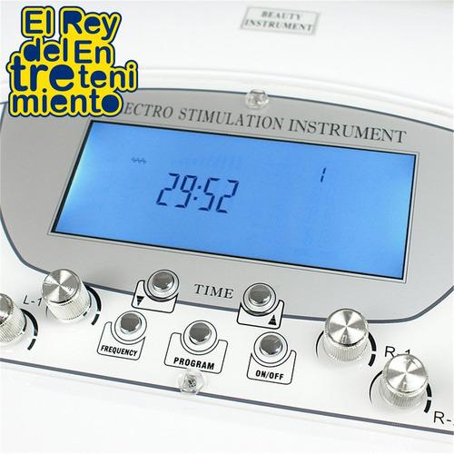 electroestimulador ondas rusas 20 electrodos profesional rey