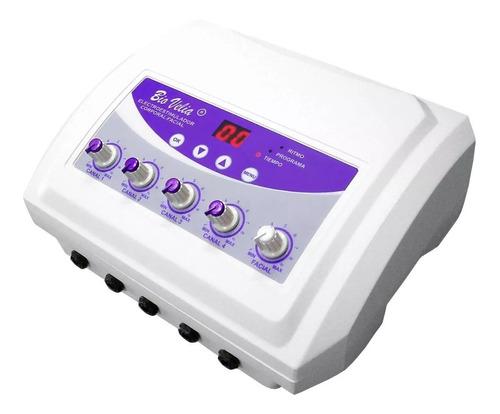 electroestimulador ondas rusas cuadradas tens- 10 electrodos