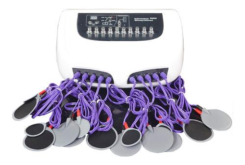 electroestimulador ondas rusas profesional 20 electrodos rey