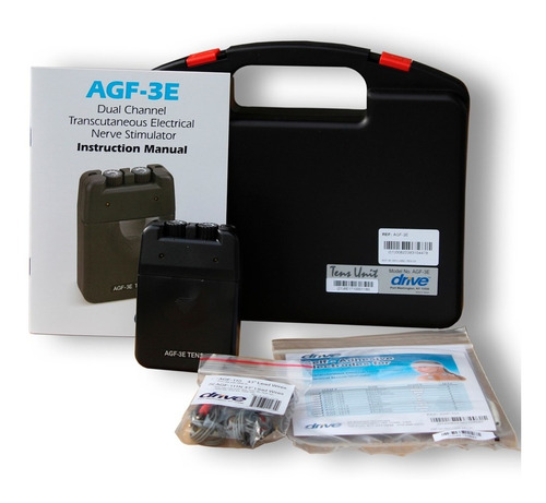electroestimulador tens 2 canales drive medical usa agf3e