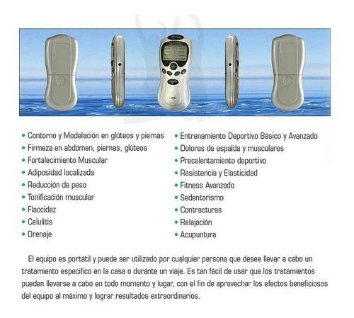 electroestimulador tens digital therapy 4 electrodos