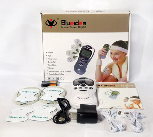 electroestimulador tens digital therapy 4 parches - arequipa