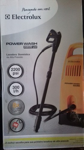 electrolux ews11 hidrolavadora power wash 2200psi - hidrojet