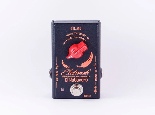 electromate el habanero - pedal booster para guitarra o bajo