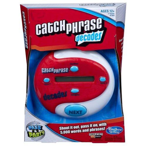 electronic catch phrase décades