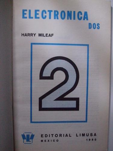 electrónica 2 - serie uno siete - harry mileaf 1980