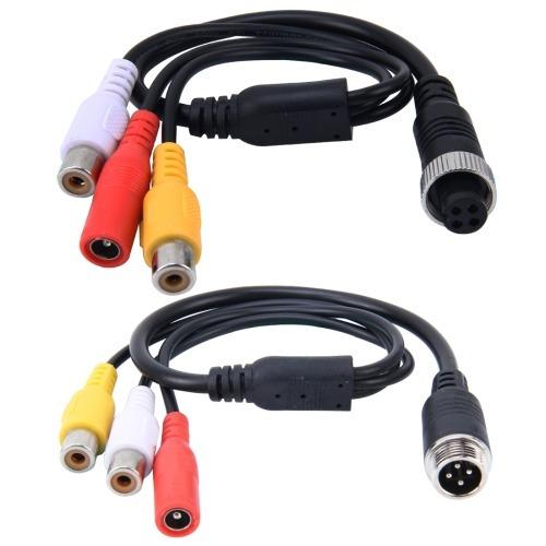 electronica adaptador zocalo cable 2 pcs 1 3 manera para