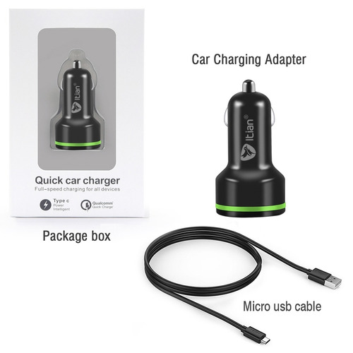 electronica cargador k5 qualco quick charge 2.0