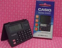 electronica casio calculadora
