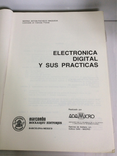 electrónica digital y sus prácticas, marina anton- pacheco m