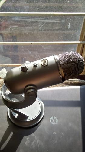 electronica microfono entrada usb blue