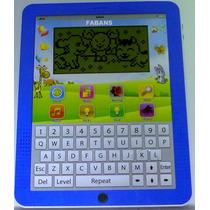 Computadora Ipad Tablet Interactiva 160 Juegos Niño Niña Pc