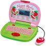 Laptop Educativa Biligüe Para Niñas Fresita Con Mouse. Myp