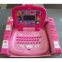 Barbie Color Laptop...preciosa Y Funcional Computadora!