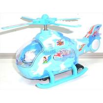 Helicoptero De Juguete Con Luces De Colores Y Sonidos Gira