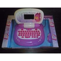 Laptop Barbie Mariposa Bilingüe 48 Actividades (sonata)