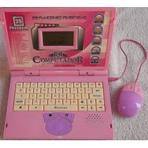 Laptop El Computador De Aprender Para Niñas 25 Actividades