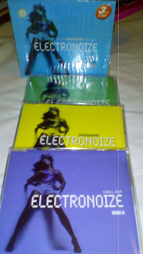 electronoize pack de 3 cds- house-progressiva-chill out