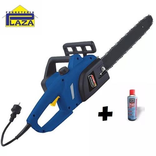 electrosierra foreman moto sierra 2000w espada de 16´+aceite