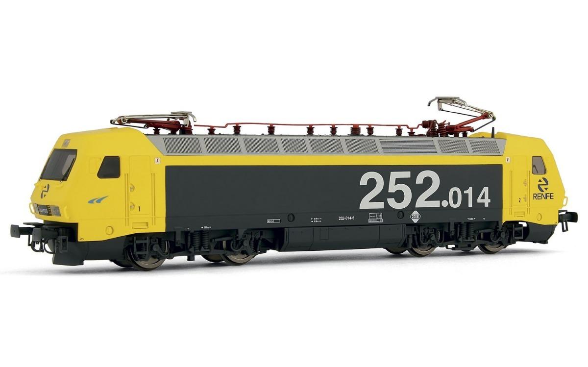 construcción racional lo mas baratas oficial Electrotren Ho - Locomotiva Elétrica: Renfe 252.014 - E2522