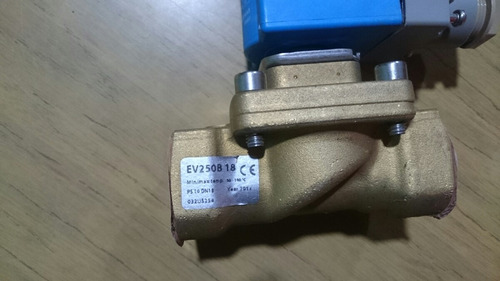 electrovalvula danfoss vapor, agua caliente, 24vac sin uso.