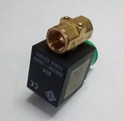 electroválvula solenoide 1/4 maquina cafe vapor la plata