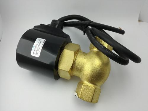 electrovalvulas 120vac, agua, aceite, aire, desde 20 dolares